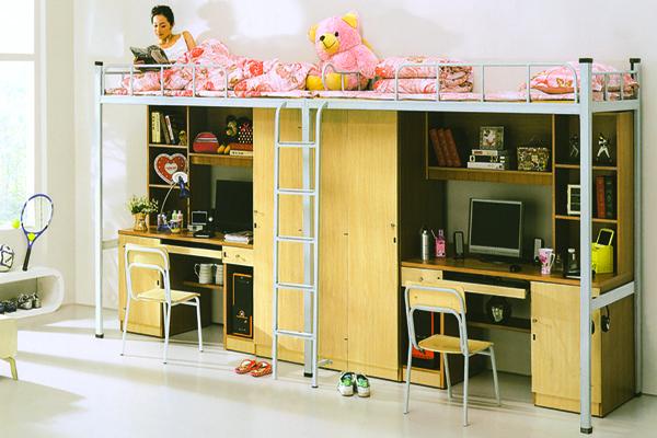 公寓床_学生床系列